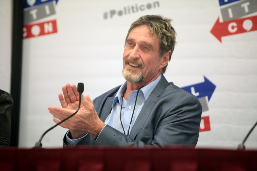 The curious case of John McAfee